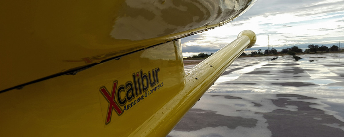 Xcalibur Logo on Sky Tractor