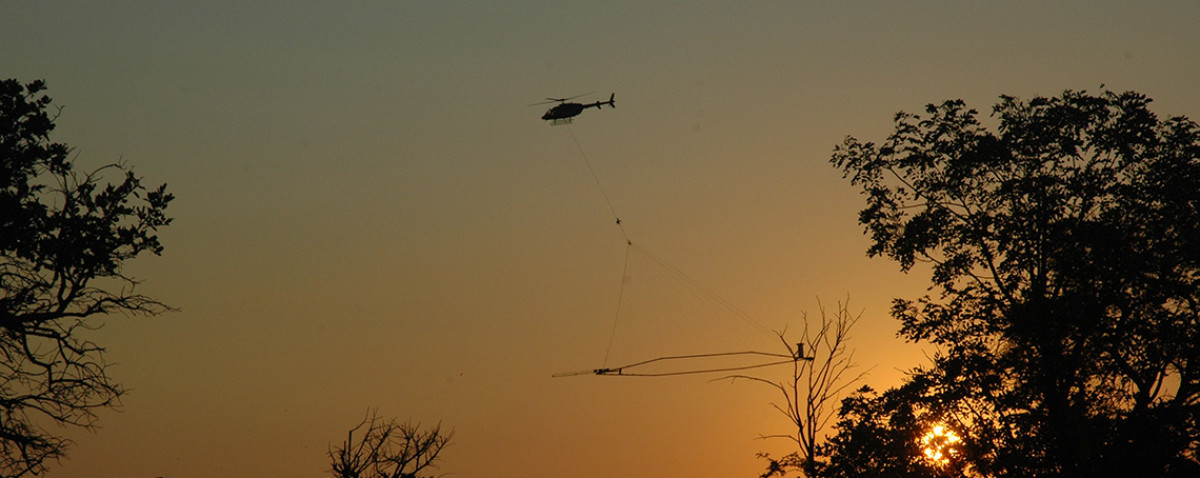 Skytech Helicopter (Sunset)