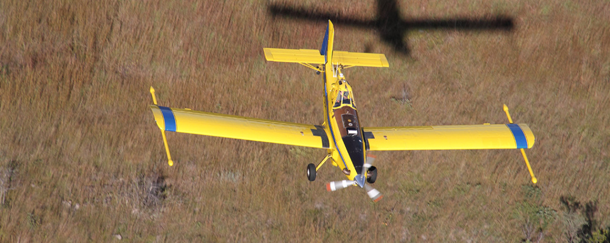 Air Tractor Arial Shot