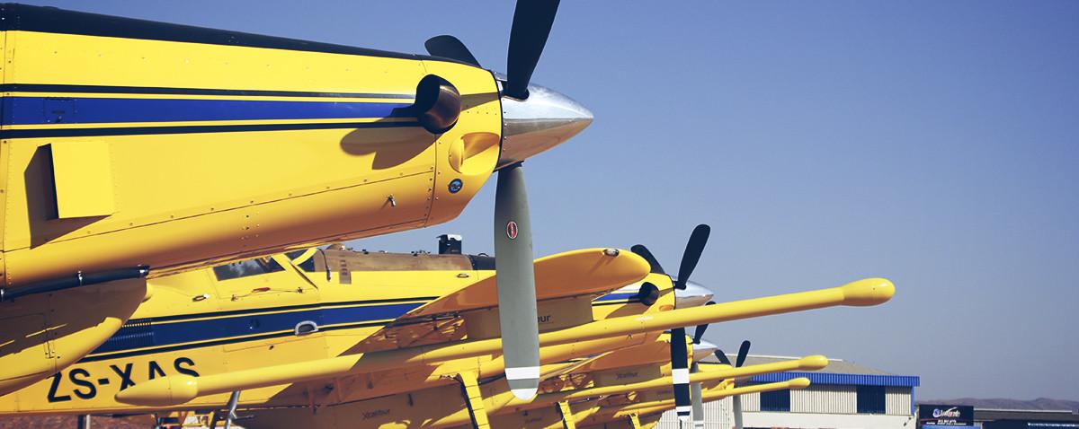 Side Shot of Planes